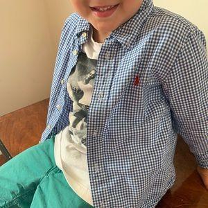Boys Ralph Lauren dress Shirt 5